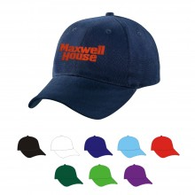 6 Panel High Profile Structured Cotton Cap