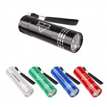 9 LED Supreme Aluminum Flashlight