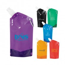 20 Oz Collapsible Sports Water Bottle