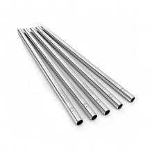 Straight Stainless Steel Drinking Straw