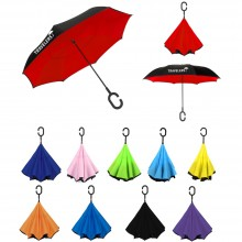 Deluxe Inverted Reverse Umbrella