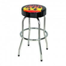 Custom Single Ring Bar Stool